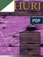 THURJ Vol. 2 Issue 1