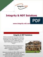 Presentacion General Integrity Ndt Solutions