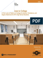 New York City Goes to College