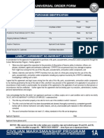 CMP Order Form