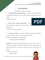 Linterrogation Grammaire PF