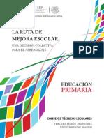 Tercera sesion CTE 2014-2015 primaria