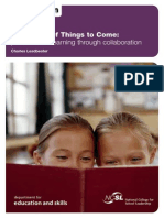 the shape of things to come personalized learning through collaboration
