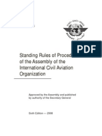 Standing Rules of Procedure of the Assembly of the International