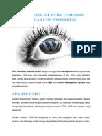 Cara Membuat Website Sendiri Dengan Cms Wordpress