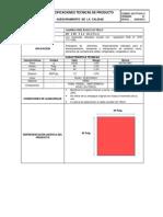 AC-FT-018.2013  LAMINA PEBD ROJO  ELECTRICO 40´´ X 40´´ X 1.2