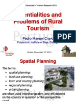 Potentialities and Problems of Rural Tourism
