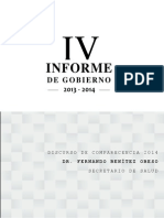 Mensaje Comparecencia Dr. Fernando Benitez Obeso
