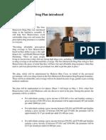 New Brunswick Drug Plan Introduced (Alward 2014)