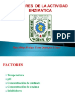 7. Clase N_ 07 -Enzimas Factores- 2014 II