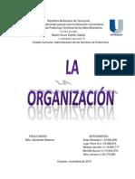 Trabajo La Organizacion