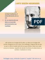 La Obra de Arte Según Heidegger