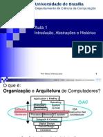 Organização e arquitetura e computadores