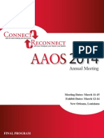 Aaos final program 2014 orthopedic surgery food and drug aaos final program 2014 orthopedic surgery food and drug administration fandeluxe Images