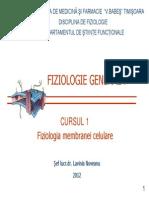 Curs 1 Membrana Celulara_2012