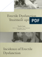 Management of Erectile Dysfunction