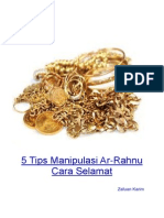 5 Tips Manipulasi Ar Rahnu