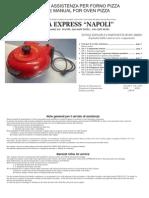Fornetto Napoli g3 Ferrari Service Manual