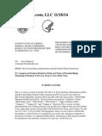 Bodyhealth.com, LLC FDA Warning Letter