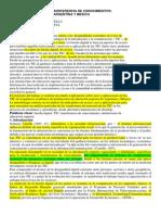 Parcial Domiciliario Metodología