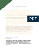Modelo de Informe - Problemas socioeconómicos contemporáneos en Argentina