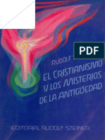 El Cristianismo y Los Misterios de La Antiguedad (Rudolf Steiner)