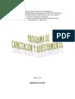 Programa de Capacitacion y Adiestramiento