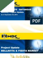 Project Update - Bellavita Septemeber 24, 2014.1.pptx