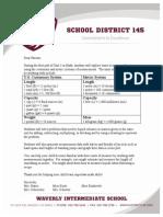math newsletter unit 3-part 1