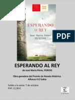 Dossier_Peridis_Esperando Al Rey _Ed. Espasa