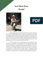 Peridis y Su Novela_presentación y Dossier