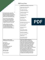 2014 poetry packet