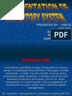 Presentation of Inventory System New