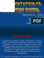 Presentation of Inventory System New