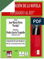 Cartel Peridis _Esperando Al Rey