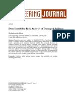 Dam Instability Risk Analysis of Damaged Spillway-4823-1-PB