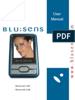 User Manual Blusens MP4 1027, 1028