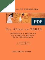 Toda Eduardo - La Tumba de Sennedyem