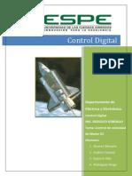 Informe Control Digital Control de Velocidad