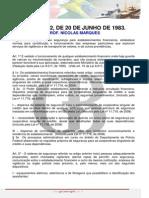 Lei n 7.102 de 20 de Junho de 1983 Ncolas Marques