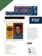 Elvis Presley Rockin Krazy Maybe 01