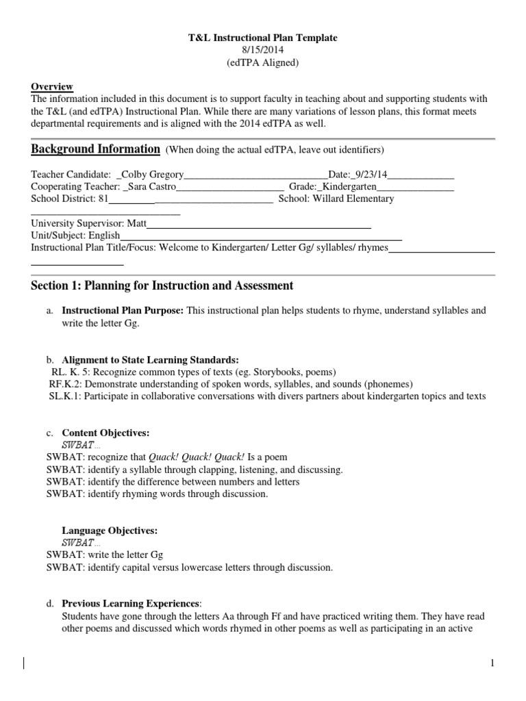 culturally responsive lesson plan lesson plan educational assessment