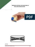 Estrategias Para El Pensamiento Logico Pca 2011