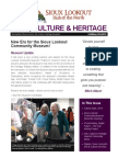 Arts, Culture & Heritage Newsletter - Fall & Winter 2014-2015
