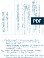 Interview Notes