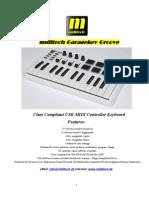 Garagekey Groove User Manual English