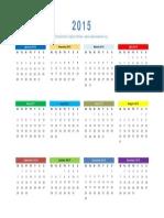 The 2015 Captain's Watch Calendar