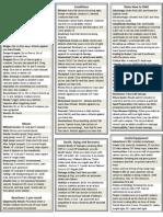 Player Crib Sheet