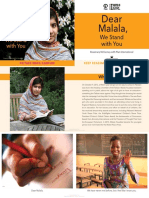 Dear Malala, We Stand with You by Rosemary McCarney