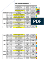 Unit Calendar 2010
